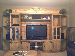 1000 ideas about rustic entertainment centers on With cheap rustic entertainment center
