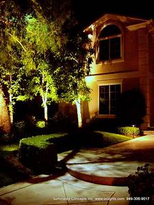Led landscape lighting design install in orange county