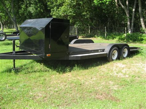 Used Boat Trailers Mobile Al by Car Hauling Trailer The Hull Boating And Fishing