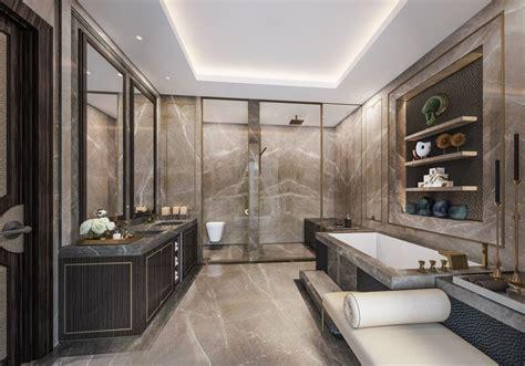 5* Hotel Residences Astana Classical Master Bathroom