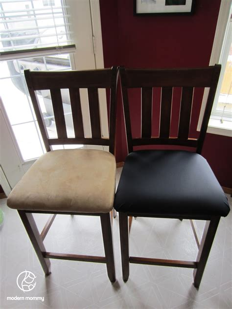 modern home diy reupholstered dining chairs