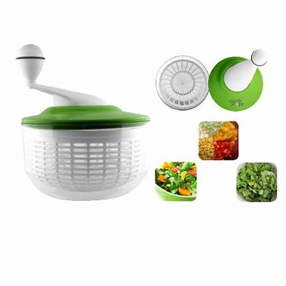 Spinner Salad Bowls Springtown Herbs Fresh Plastic