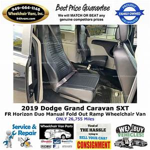 For Sale Used 2019 Dodge Grand Caravan Manual Fold Out