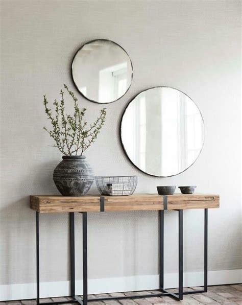 consola madera metal moderna casas  ideas en