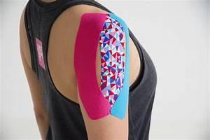 kinesiologie tape aanbrengen