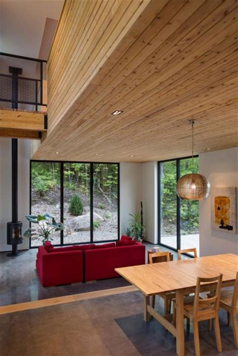 Wooden House Design with Beautiful Interiors Accentuated