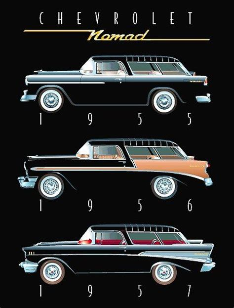 nomad car 1957 59 best 1957 chevy nomad images on pinterest