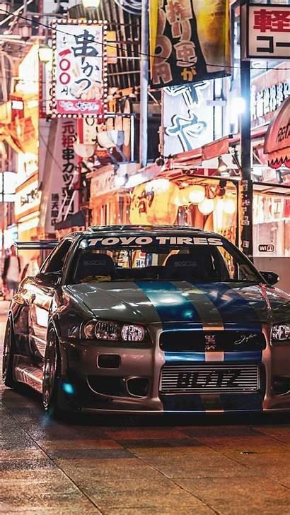 Skyline Gtr Nissan R34 Jdm Wallpapers Cars