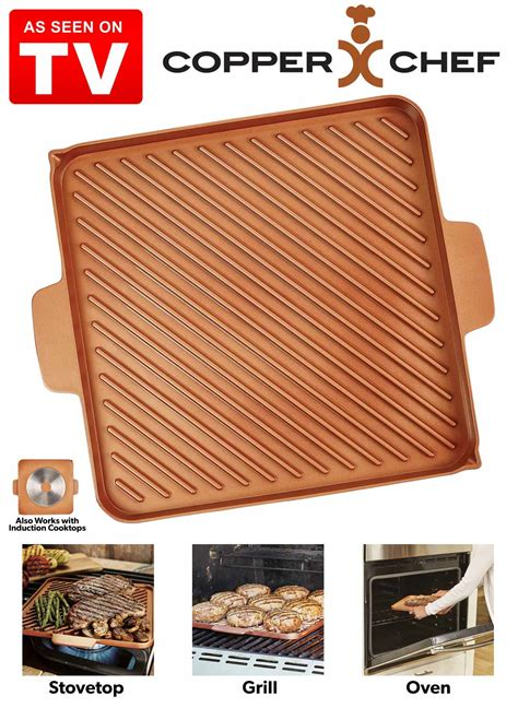 copper chef griddle  grill carolwrightgiftscom