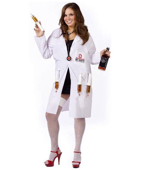Dr. Shots Female Costume - Adult Costumes