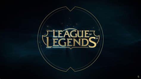 wallpaper league  legends logo wallpapermaiden