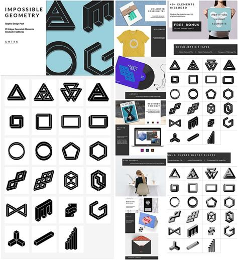 impossible geometry shapes collection