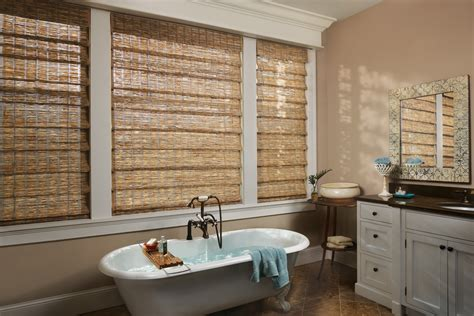 the jalousie plantation woven wood shades custom bamboo shades houston the shade shop houston tx