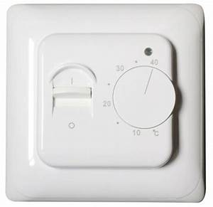 5va Manual Heated Floor Thermostat For Underfloor Heating