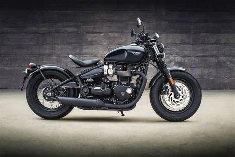 The Meaner, More Muscular, Triumph Bobber Black