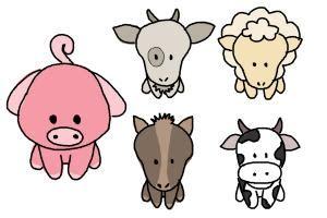 draw farm animals  kids drawingnow