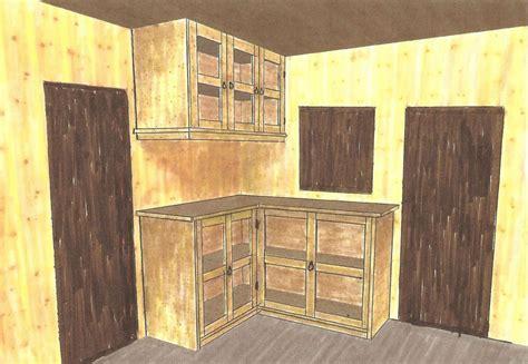 etude de cuisine esprit bois etude d 39 une cuisine