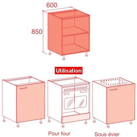 dimension caisson cuisine meuble caisson bas largeur 60 vial menuiserie cuisine