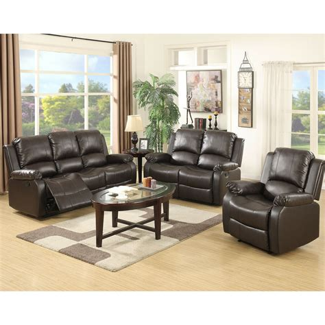 Sofas Ebay by 3 Set Sofa Loveseat Chaise Recliner Leather Living