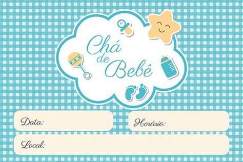 convite de cha de bebe  modelos criativos