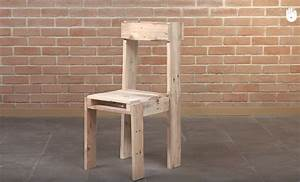 Fabriquer Meuble Bois Facile : tutoriel fabrication d 39 une chaise avec des palettes ~ Nature-et-papiers.com Idées de Décoration
