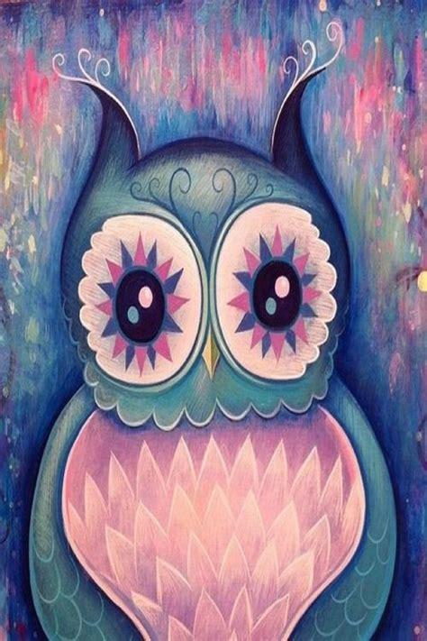 Owl Wallpaper Girly Wallpapers Pinterest