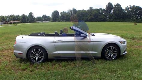 2015 Silver Mustang Convertible