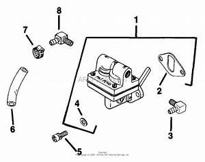 kohler k181 301031 basic 8 hp 6 kw specs 30100 30848 With small engine fuel pump diagram