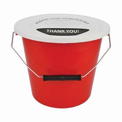 Street Bucket Charity Plastics