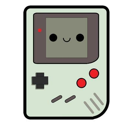 kawaii gameboy fieltro manualitats pinterest