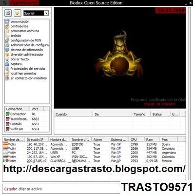 descarga del recopilador de datos x'pertin