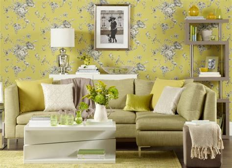 wallpaper for livingroom transform your living room with statement wallpaper the
