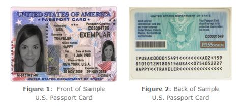 Us Passport Books And Us Passport Cards