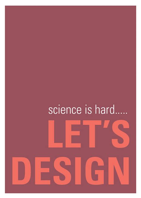 pun filled posters  graphic designers  relate