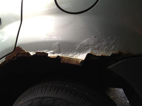 ford escape rust  rear fender  complaints