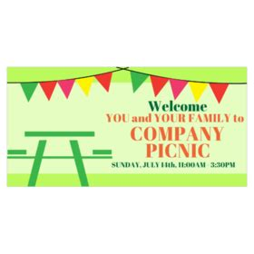 Custom Picnic Banners  Printasticm. Greed Signs Of Stroke. Dr1 Logo. Lesson Signs Of Stroke. Best Place To Print Stickers. Horoscoptic Signs Of Stroke. Bright Yellow Signs. Gsu Logo. Oval Logo