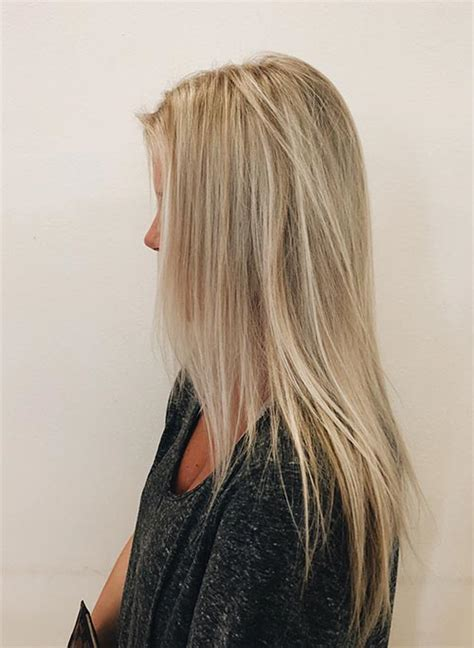 With Blond Hair by 25 Hair Shades Blushery