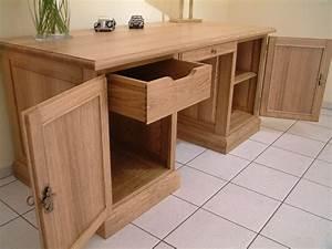 Arbeitszimmer Möbel : schreibtisch in eiche buche oder kirschbaum massiv der ~ Pilothousefishingboats.com Haus und Dekorationen