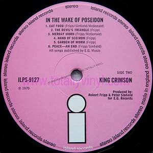 Totally Vinyl Records || King Crimson - In the wake of ...