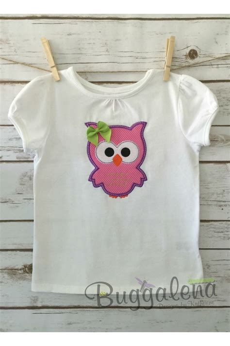 Embroidery And Applique Designs by Owl Applique Embroidery Design
