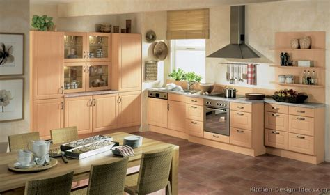 build in kitchen units designs modern light wood kitchen cabinets pictures design ideas 7977
