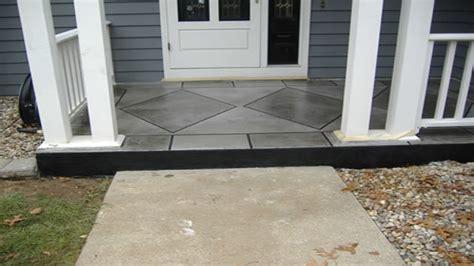 enclosed front porch design idea front concrete porch