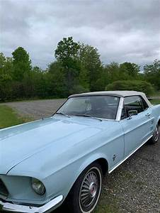 1st gen Baby Blue 1967 Ford Mustang convertible For Sale - MustangCarPlace