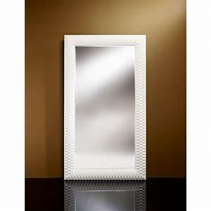 Grand Miroir Design : hall grand miroir mural finition blanche place du mariage ~ Teatrodelosmanantiales.com Idées de Décoration