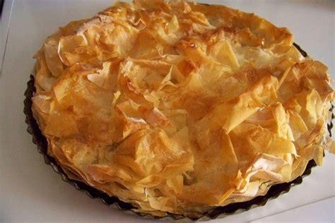 tourtiere aux pommes pate filo cuisine en folie croustade gersoise ou pastis