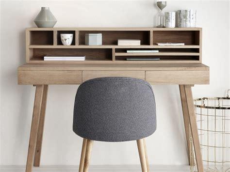 bureau chene gris des petits bureaux pour un coin studieux joli place