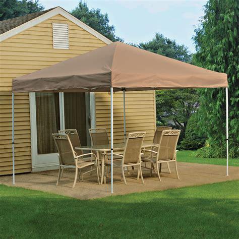 shelterlogic pop     open top pro canopy desert bronze