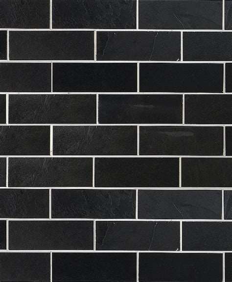 black slate backsplash tile subway slate mosaic