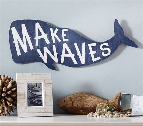 whale sentiment art plaque pottery barn kids baby boy