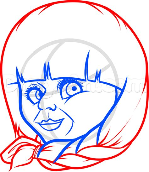 Draw Annabelle, Step By Step, Drawing Sheets, Added By